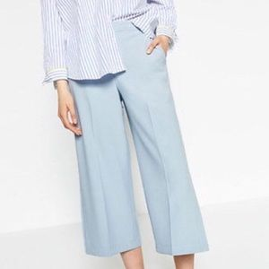 Powder Blue Cropped Pants
